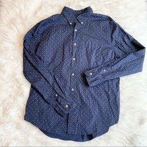 American Eagle men's button down shirt large